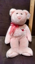 Ty Beanie Buddies Sweetest - Valentine's Bear Ty Store Exclusive - $11.99