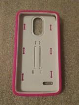 LG Stylo 3 Plus, MetroPCS - KICK + Hybrid Two-Piece Kickstand Shield Case Pink/W - $7.91