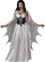 Incharacter Vampire Comtesse Ailes Monster Adulte Femmes Déguisement Halloween image 3