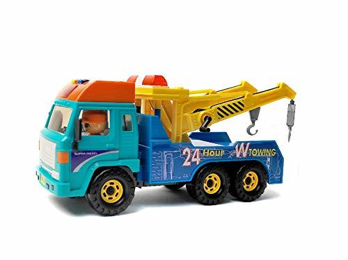 Daesung Toys Melody Tow Towing Truck Car Vehicle Heavy Equipment Playset