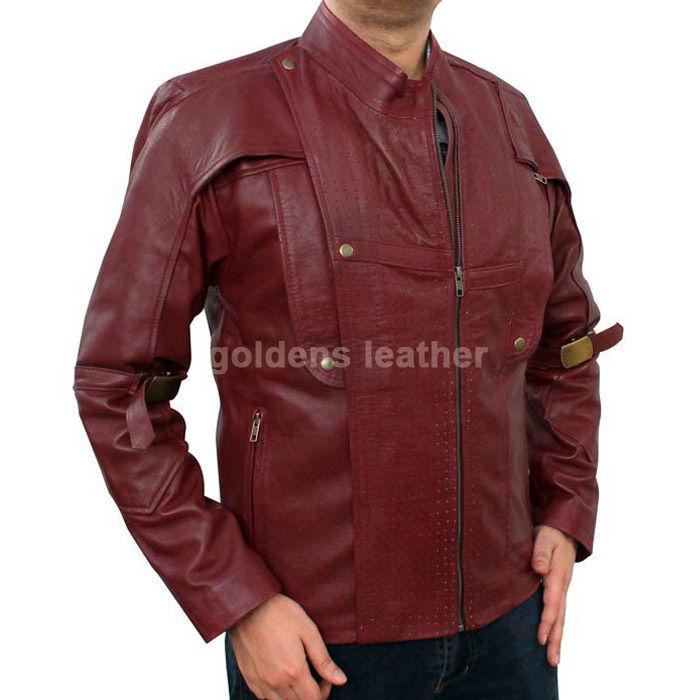 New Men's Stylish Lambskin Genuine Leather Motorcycle Biker Slim Fit Jacket GN23