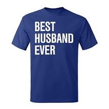 "Men's ""Best Husband Ever"" Graphic T-Shirt Hanes 100% Cotton Preshrunk - $17.99+"