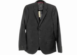 J Crew Men'S Ludlow Sportcoat In Herringbone Irish Linen 40R B9093 Black - $119.59