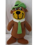 """1980 Hanna Barbera Plush YOGI BEAR Doll by Mighty Star 11.5"""" Felt - $12.86"""