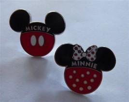 Disney Trading Broches 119299 Mickey Et Minnie Icônes 2 Broche Ensemble - $14.03