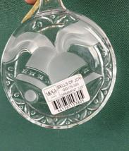 Mikasa Holiday Magic Crystal Bells of Joy Ornament - NIB - $10.39