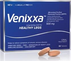 Venixxa Micronized Purified Flavonoid Fraction for Healthy Legs 2 x 30 ... - $99.99