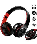 Wireless Bluetooth Headphones Foldable Stereo Earphones Super Bass Heads... - £16.05 GBP