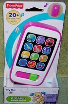 Fisher Price Laugh & Learn Hot Pink SMART PHONE 6m+ New - $8.88