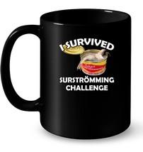 Surstromming Ceramic Mug I Survived Surstroemming Challenge - $13.99+