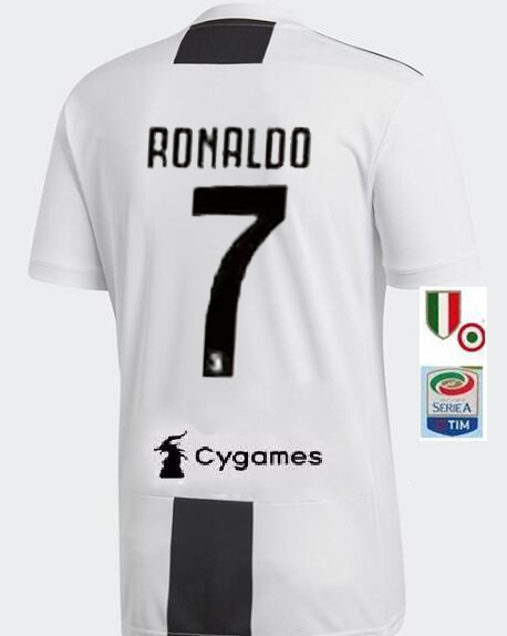 sports shoes 3f20c a9008 Juventus Cristiano Ronaldo #7 NIKE Home SHIRT SOCCER ...