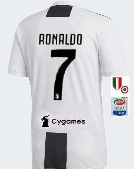 sports shoes 38148 fc684 Juventus Cristiano Ronaldo #7 NIKE Home SHIRT SOCCER ...