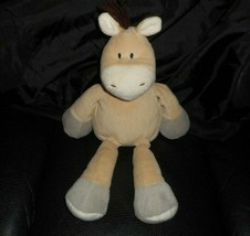 "13"" ANIMAL ADVENTURE 2015 BABY BROWN PONY HORSE STUFFED ANIMAL PLUSH TOY... - $28.05"
