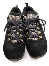 MERRELL Performance Women's Black Suede & Faux Fur Walking Shoes 9 M image 5
