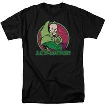 Lex Luthor T-shirt DC comics villians Superman superfriends black cotton DCO560 image 2