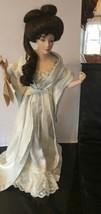 The Gibson Girl Boudoir Porcelain Doll ~ Franklin Heirloom    Geisha Col... - $94.00