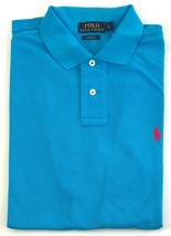 Ralph Lauren Mens Light Blue Polo Shirt Classic Fit Size XS Extra Small - $74.70
