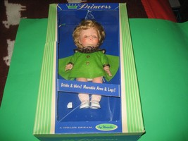 Vintage Little Princess Doll. Uneeda. In Box. Drinks and Wets - $29.69