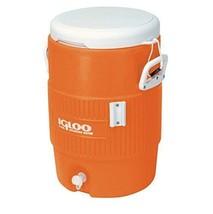 5 Gal Cooler Seat Beverage Cold Water Jug Spigot Travel Camping Portable... - $43.07