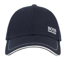 Hugo Boss Men's Cotton Twill Adjustable Sport Embroidered Logo Hat Cap (Navy) image 2