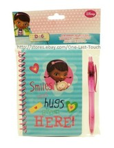 Doc Mcstuffins 2pc Stationery Set Smiles & Hugs Are Given Here Journal+Ink Pen - $2.99