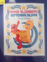 Janlynn Sesame Street Counted Cross Stitch Kit Star Gazers Elmo & Big Bi... - $19.95