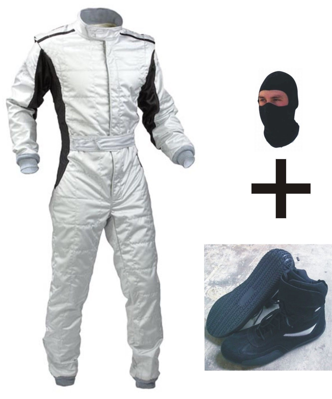 Latest Design Go Kart Race Suit Pack With Shoes (Free gifts included)