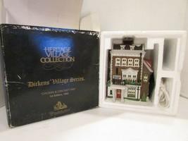 Dept 56 57509 Crown & Cricket Inn Heritage Village Building W/CORD Box Dirty D12 - $15.63