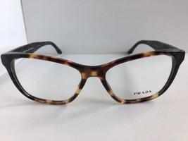 New PRADA VPR0T4 U6M-1O1 54mm Tortoise Cats Eye Women's Eyeglasses Frame No case - $189.99