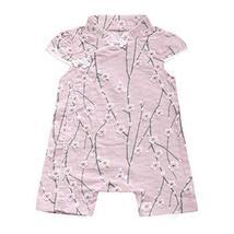 Panda Superstore [Pink] Cute Chinese Cheongsam Baby Bodysuit Summer Cotton Baby