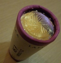 Latvia 2 Euro roll of 25 coins - Presidency of the EU, Lettland, Lettoni - $81.20