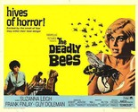 The Deadly Bees - 1966 Classic Rare Movie DVD Colour Case/Artwork