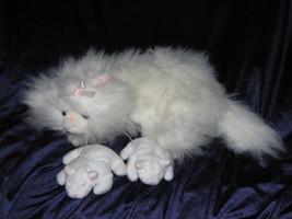 VINTAGE COMMONWEALTH 1991 KIT'N MEOWING KITTIES STUFFED ANIMAL PLUSH CAT... - $37.61