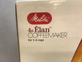 Vintage MELITTA 4s ELAN Coffee MAKER Original BOX Never Used UNTESTED image 2