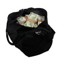 PROP MOVIE MONEY - 1980 Series $500,000 Aged Blank Filler Duffel Bag - $239.99