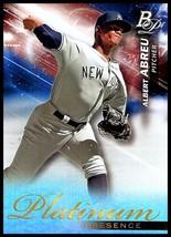 2018 Bowman Platinum Presence #PP-8 Albert Abreu NM-MT New York Yankees - $1.99