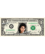 MICHAEL JACKSON on REAL Dollar Bill King of Pop Cash Celebrity Money Memorabilia - $4.50