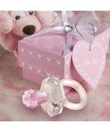 Choice Crystal pink pacifier favors (Set of 12) - $30.07