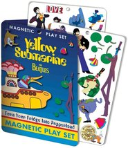 The Beatles Yellow Submarine Magnet Set BRAND NEW 50+ Magnets Characters OOP image 1