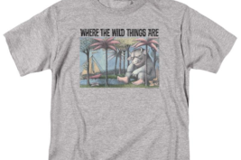 Where the Wild Things Are T-shirt Retro Childrens Book graphic t-shirt WBM709 image 3