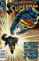 The Adventures of Superman #506 Newsstand Cover (1987-2006) DC - $4.99