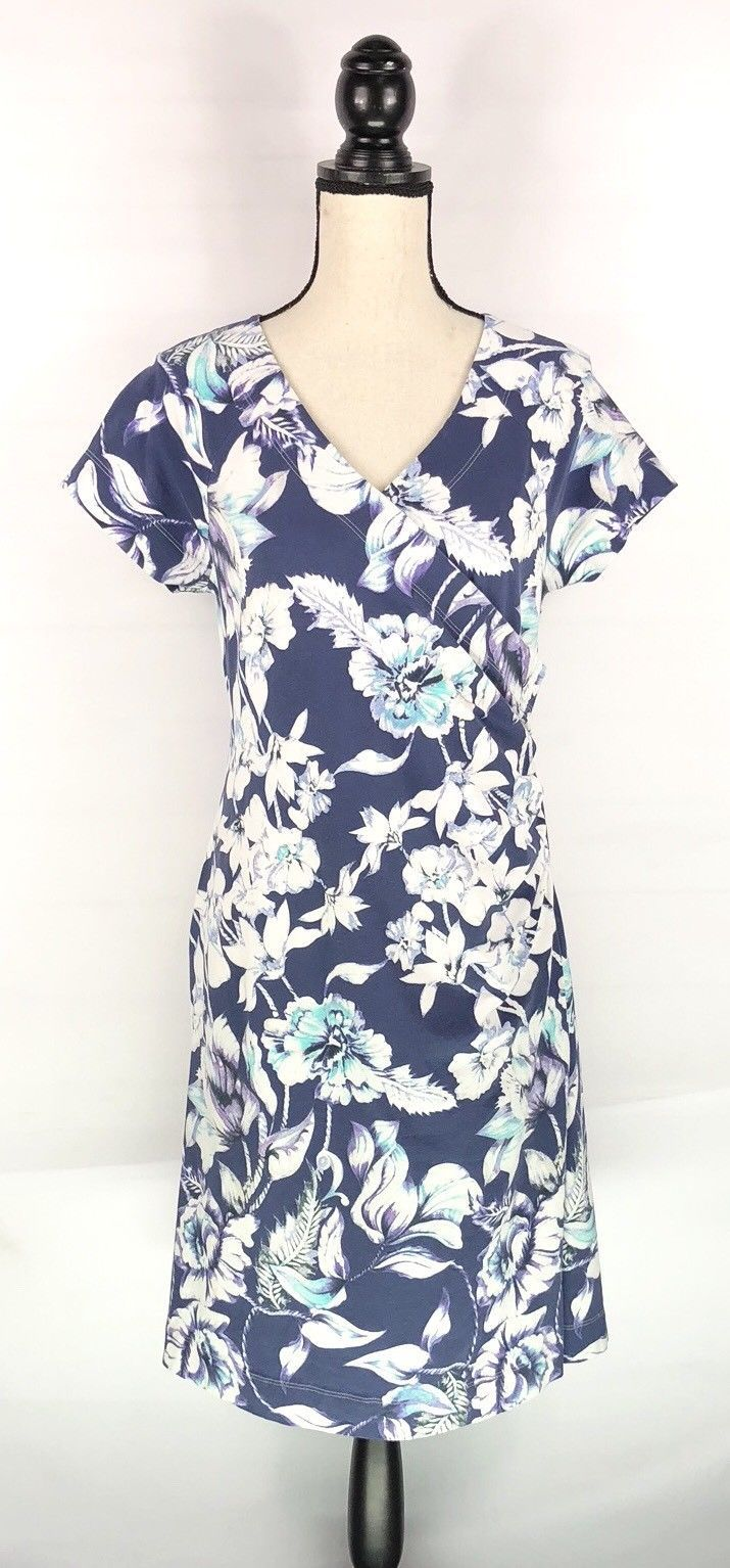 27400a4e09a Soft Surroundings Faux Wrap Dress Women Sz M and 50 similar items. S l1600