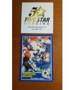 Herschel Walker VINTAGE HAND SIGNED 1989 Score Card w/COA Cowboys - $14.85