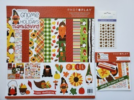 Gnome For Thanksgiving Holidays.  BASIC Kit.  Photoplay