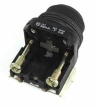 ALLEN BRADLEY 800H-R PUSHBUTTON SER. F W/ 800T-XA SER. D CONTACT BLOCK