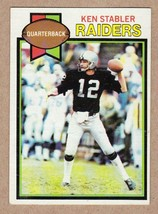1979 Topps #520 Kenny Stabler Oakland Raiders Near Mint NM condition - $6.18