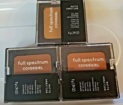 BUY 1 GET 1 AT 10% OFF Covergirl Full Spectrum Matte Ambition Powder Fou... - $9.26+