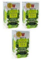 Wissotzky Green Tea With Nana Mint, KP,  3/20 bags - $18.55
