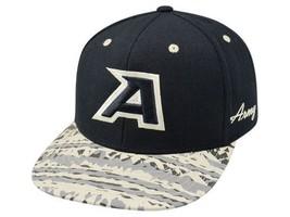 Army Black Knights Tow Release NCAA Team Logo Flat Bill Snapback Cap Hat - $18.99