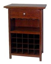 Winsome Wood 94441 Chablis Wine Storage, Walnut - $252.97